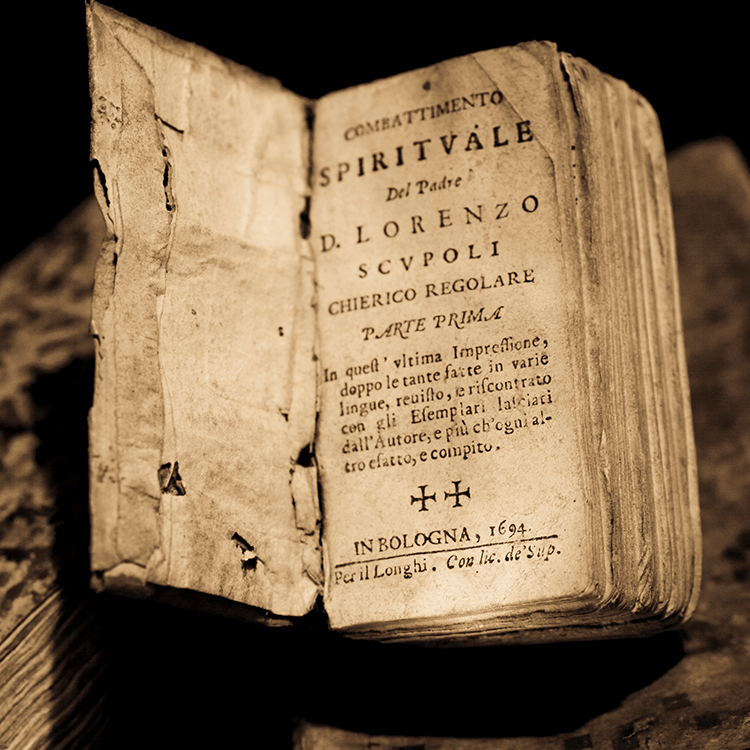 A very old book.